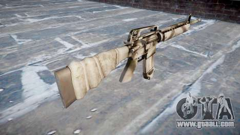 The M16A2 rifle for GTA 4 second screenshot