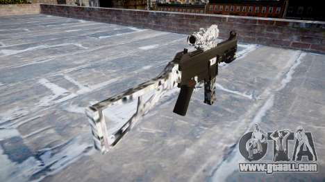 Gun UMP45 Diamond for GTA 4 second screenshot