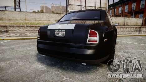 Rolls-Royce Phantom EWB for GTA 4 back left view