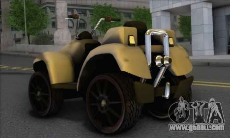 New Quad for GTA San Andreas left view