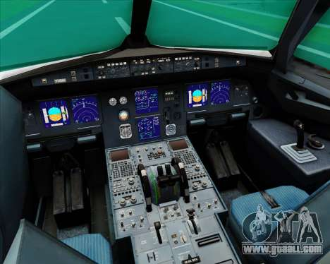 Airbus A321-200 S7 - Siberia Airlines for GTA San Andreas interior