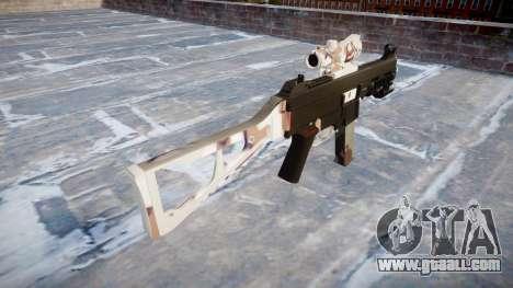 Gun UMP45 Choco for GTA 4 second screenshot
