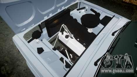 ВАЗ-2107 Avtosh Style for GTA 4 inner view