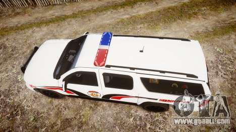 Chevrolet Suburban 2008 Police [ELS] Red & Blue for GTA 4 right view