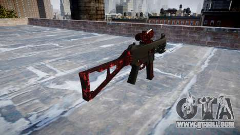 Gun UMP45 Art of War for GTA 4 second screenshot