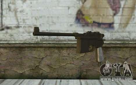 Mauser C96 v1 for GTA San Andreas