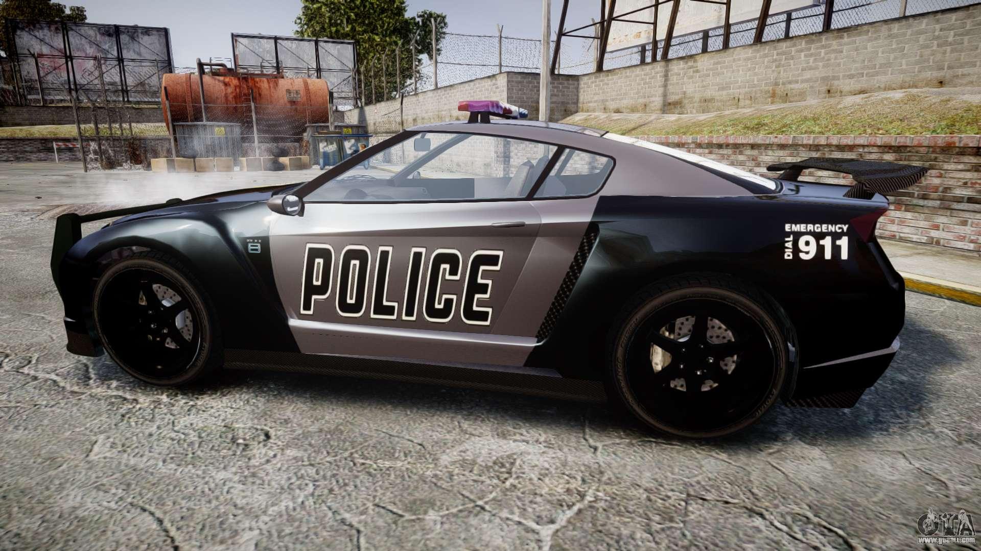 Gta V Annis Elegy Rh8 Police Els For Gta 4
