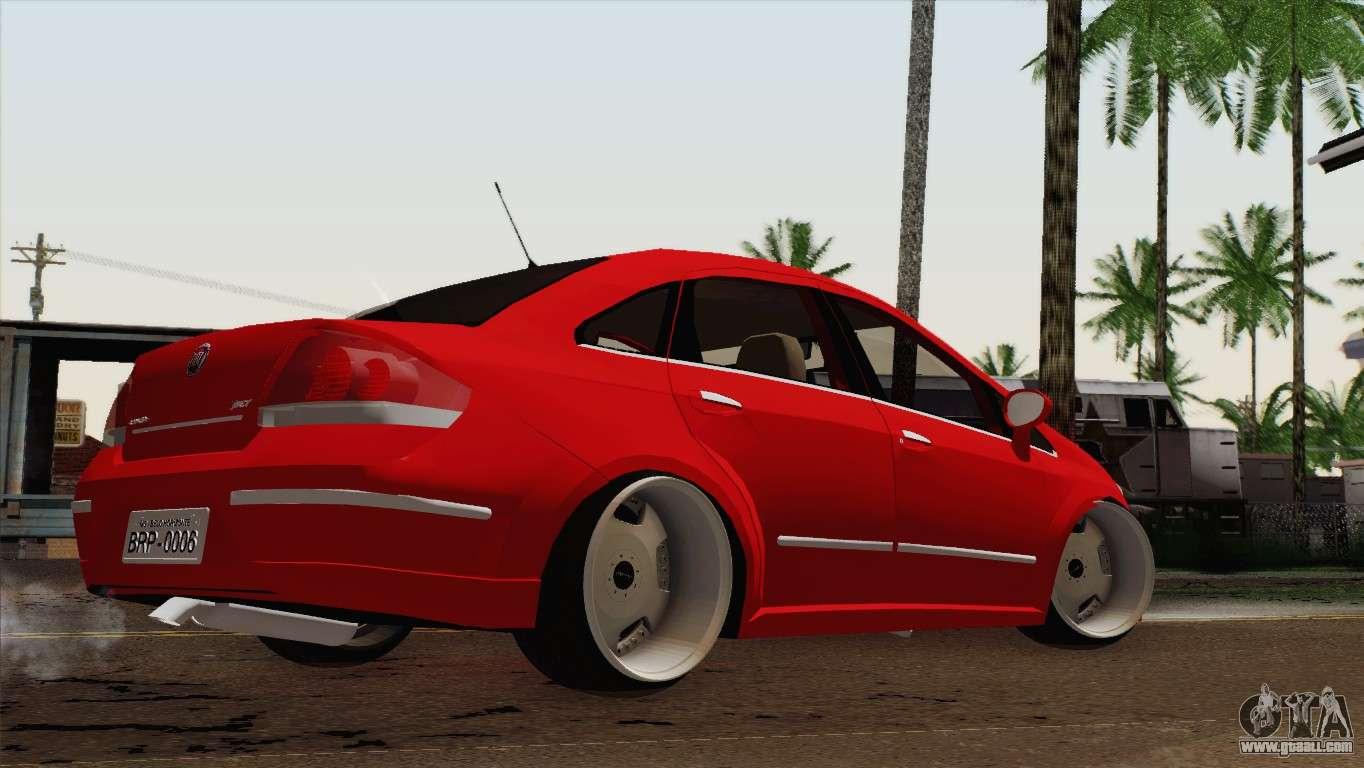 6 Passenger Vehicles >> Fiat Siena for GTA San Andreas