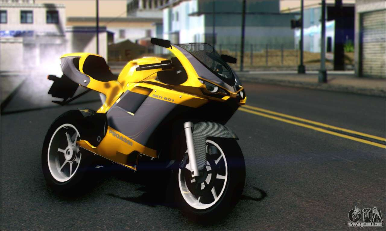 The mix of style and speed. The one and only Pegassi Bati 801
