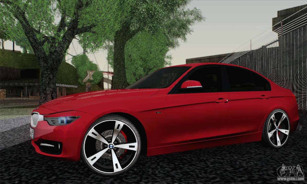 bmw 3 series f30 2013 for gta san andreas. Black Bedroom Furniture Sets. Home Design Ideas