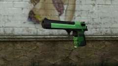 Green Desert Eagle for GTA San Andreas