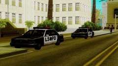 New vehicles in LSPD