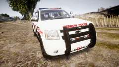 Chevrolet Suburban 2008 Police [ELS] Red & Blue