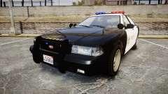 GTA V Vapid Cruiser LSS Black [ELS] for GTA 4