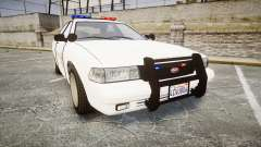 GTA V Vapid Cruiser LSS White [ELS]