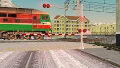 New textures for railway traffic