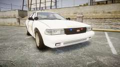 GTA V Vapid Cruiser LSS White [ELS] Slicktop for GTA 4