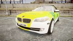 BMW 530d F11 Ambulance [ELS] for GTA 4