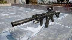 Machine Tactical M4A1 CQB target for GTA 4