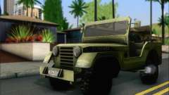 Jeep From The Bureau XCOM Declassified for GTA San Andreas