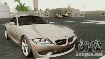 BMW Z4M Coupe 2008 Stock for GTA San Andreas