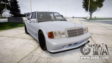 Mercedes-Benz 190E Evolution II for GTA 4