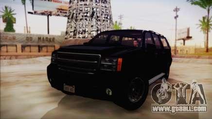 GTA 5 FIB Granger for GTA San Andreas