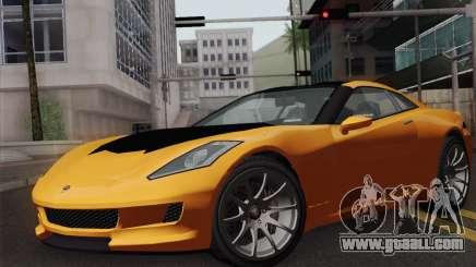 GTA 5 Invetero Coquette (IVF) for GTA San Andreas