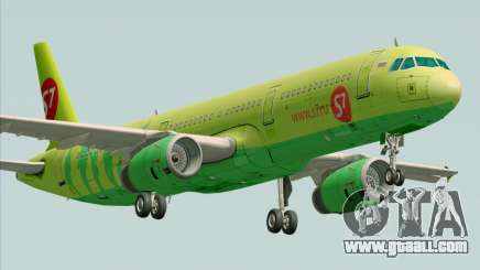 Airbus A321-200 S7 - Siberia Airlines for GTA San Andreas