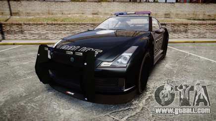 GTA V Annis Elegy RH8 Police [ELS] for GTA 4