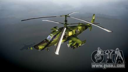 Ka-50 Black shark for GTA 4