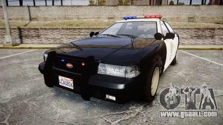GTA V Vapid Cruiser LSP [ELS] for GTA 4