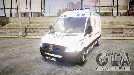 Mercedes-Benz Sprinter ARM Ambulance [ELS] for GTA 4