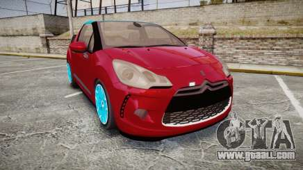 Citroen DS3 Convertible for GTA 4