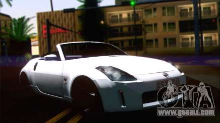Nissan 350Z convertible for GTA San Andreas