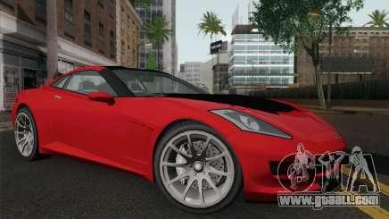 GTA 5 Invetero Coquette for GTA San Andreas