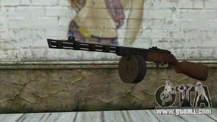 PPSH-41 v2 for GTA San Andreas