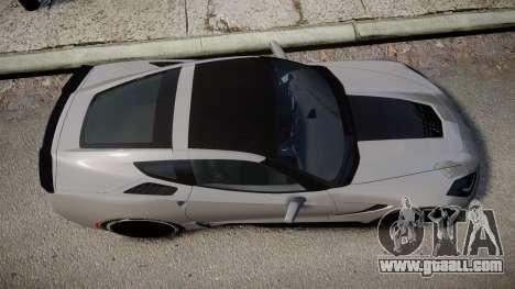 Chevrolet Corvette Z06 2015 TireBFG for GTA 4 right view