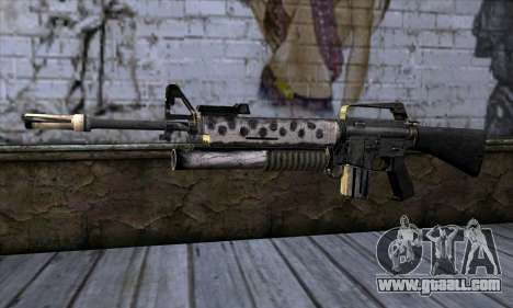 M4 from Call of Duty: Black Ops v2 for GTA San Andreas