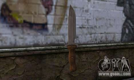 Daryl Knife from The Walking Dead for GTA San Andreas second screenshot