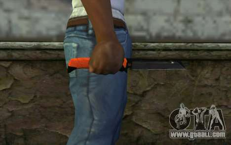 Knife from Battlefield 3 for GTA San Andreas third screenshot