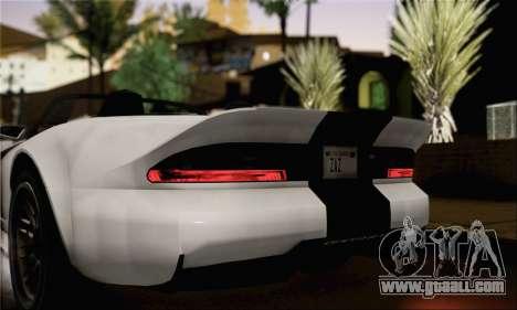 GTA 5 Bravado Banshee (IVF) for GTA San Andreas back left view