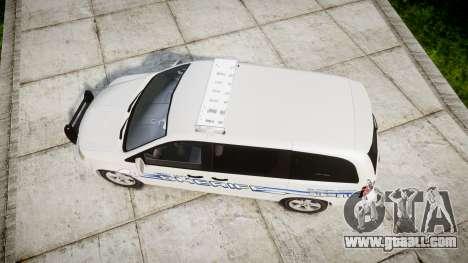 Dodge Grand Caravan [ELS] Liberty County Sheriff for GTA 4 right view
