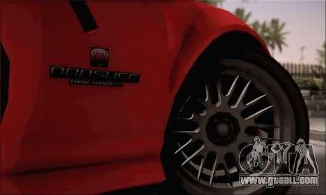 GTA 5 Bravado Banshee for GTA San Andreas back left view