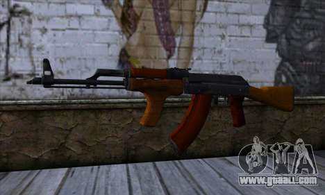 Romanian AKM for GTA San Andreas