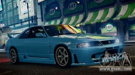 Nissan Skyline BCNR33 JUN VER for GTA 4