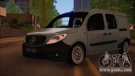 Mercedes-Benz Citan Stock 2013 for GTA San Andreas