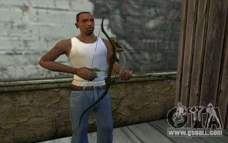 Green Arrow Bow v1 for GTA San Andreas third screenshot