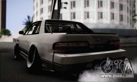 Nissan Silvia S13 Slammed for GTA San Andreas left view