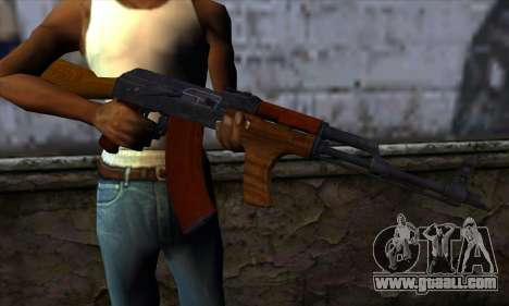 Romanian AKM for GTA San Andreas third screenshot